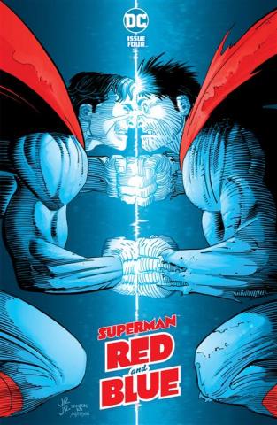 Superman: Red and Blue #4 (John Romita Jr & Klaus Janson Cover)