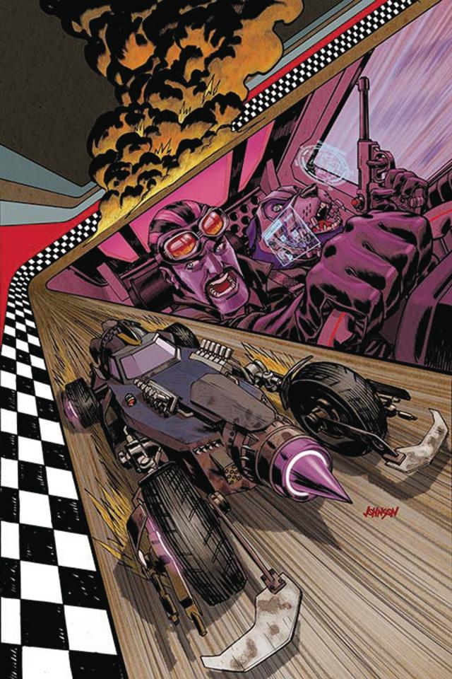 Wacky Raceland #1 (Dick Dastardly Cover)