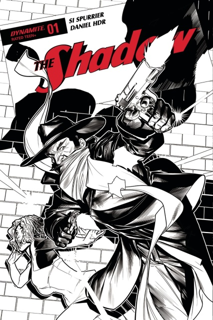 The Shadow #1 (20 Copy Peterson B&W Cover)