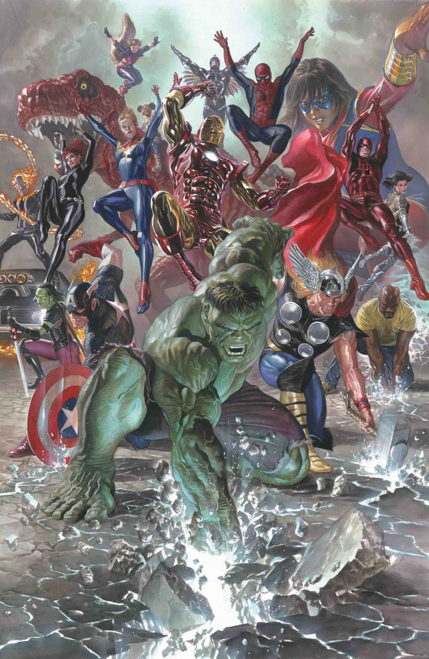 Marvel Legacy #1 (Alex Ross Cover)
