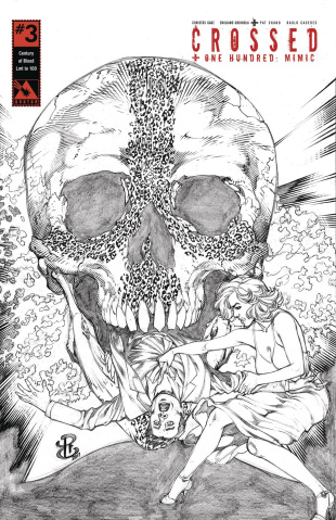 Crossed + One Hundred: Mimic #3 (Century of Blood Cover)