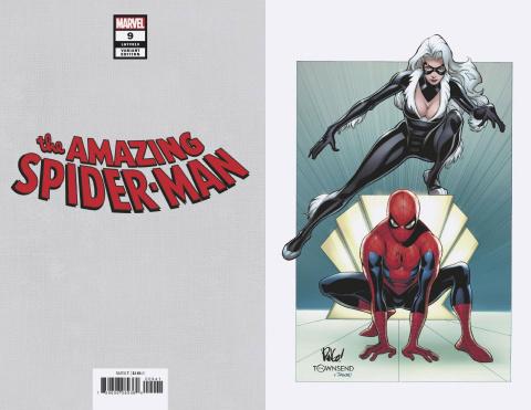 The Amazing Spider-Man #9 (Weiringo Black Cat Virgin Cover)