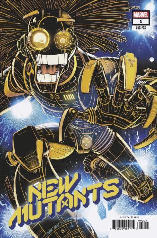 New Mutants #2 (Adams Cover)