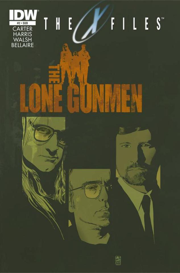 The X-Files, Season 10 #2 (Subscription Cover)