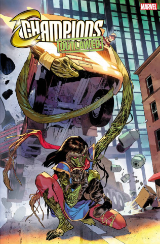 Champions #5 (Pichelli Ms Marvel-Thing Cover)