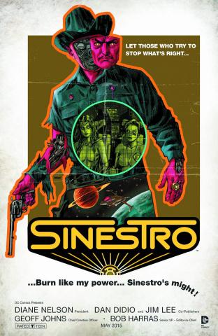 Sinestro #11 (Movie Poster Cover)