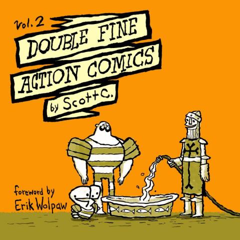 Double Fine Action Comics Vol. 2