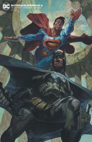 Batman / Superman #6 (Card Stock Cover)