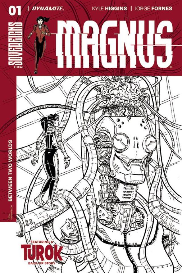 Magnus #1 (20 Copy Conley B&W Cover)