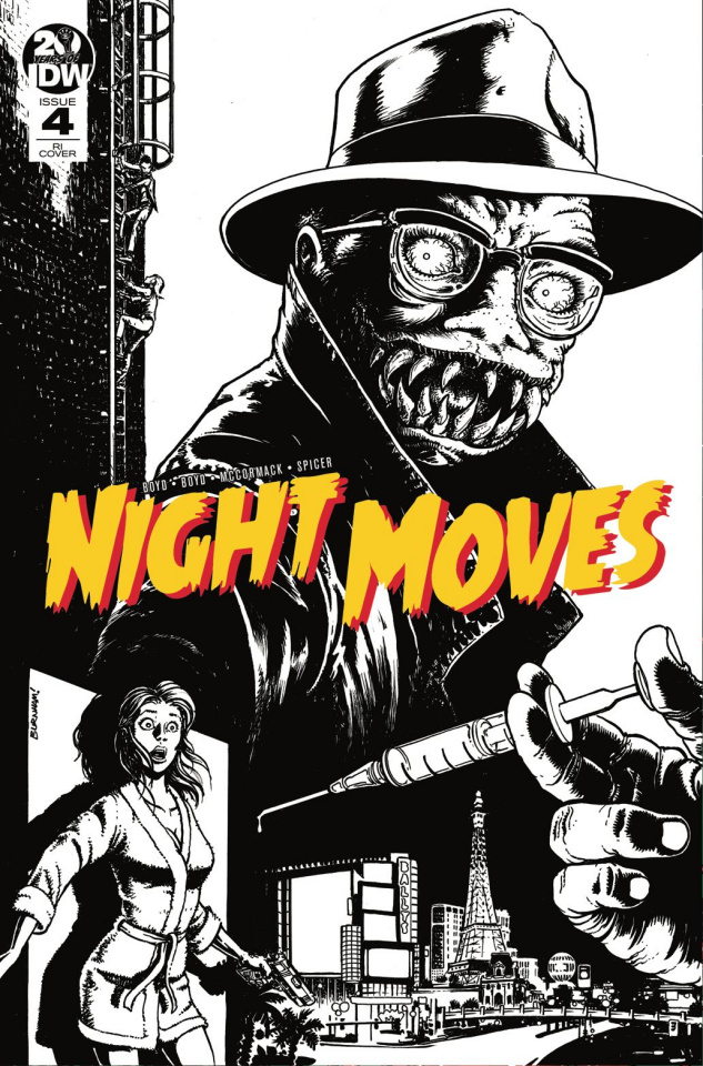 Night Moves #4 (10 Copy Burnham Cover)