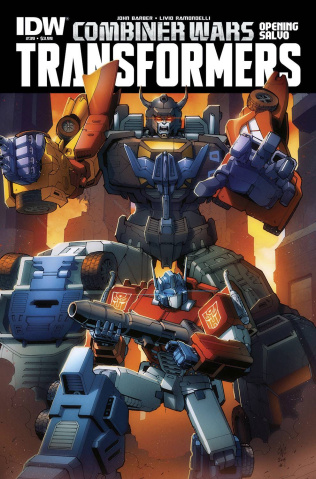 The Transformers #39: Combiner Wars Opening Salvo