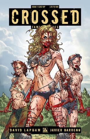 Crossed: Family Values #1 (C2E2 VIP Cover)