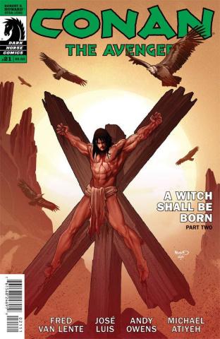 Conan the Avenger #21