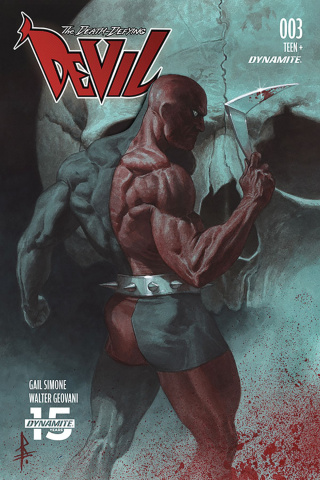 The Death-Defying Devil #3 (Federici Cover)