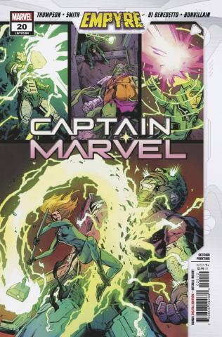 Captain Marvel #20 (2nd Printing)