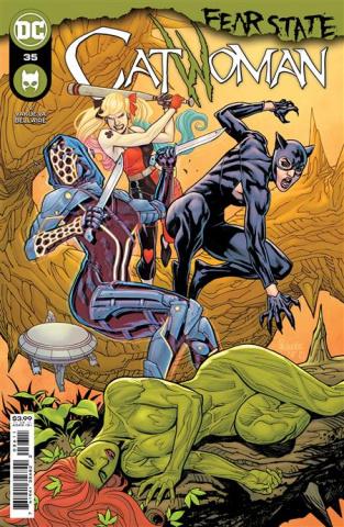 Catwoman #36 (Yanick Paquette Cover)