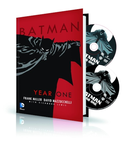 Batman: Year One Book & DVD/BluRay Set
