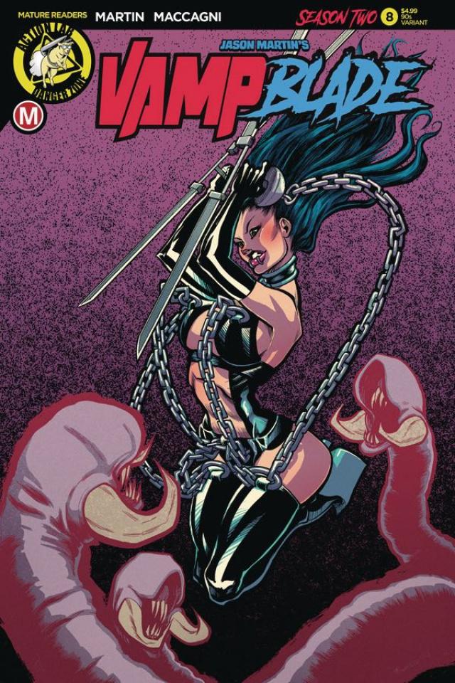 Vampblade, Season Two #8 ('90s Cover)