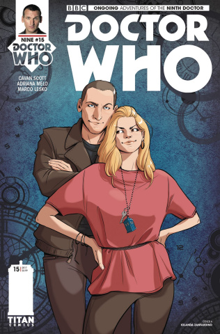 Doctor Who: New Adventures with the Ninth Doctor #15 (Zanfardino Cover)