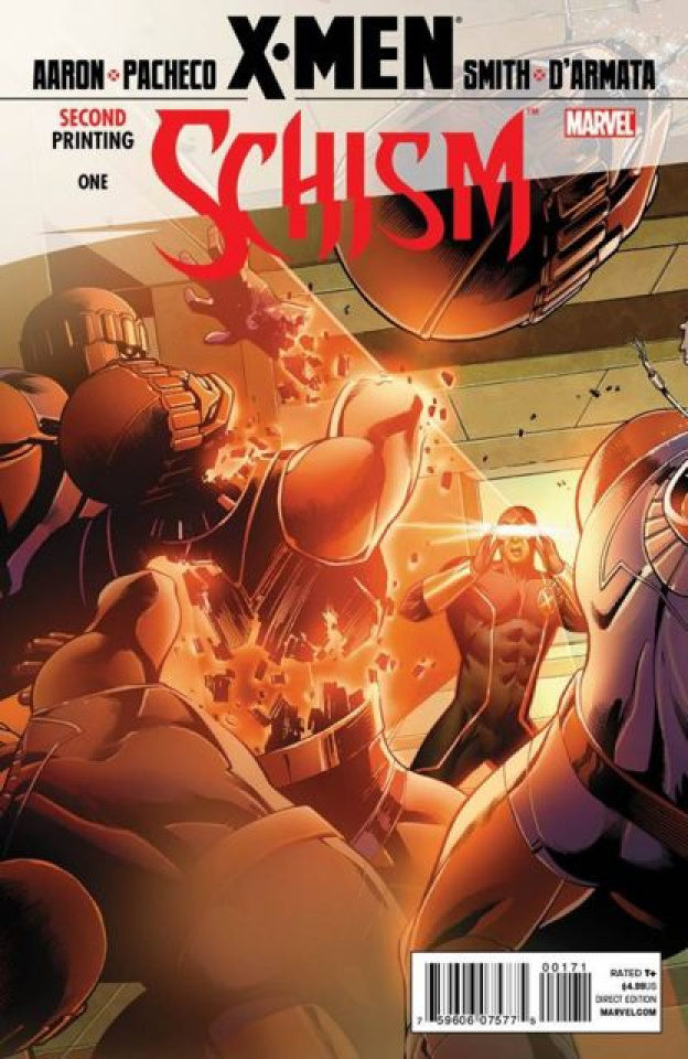 X-Men: Schism #1 (2nd Printing, Cyclops Cover)