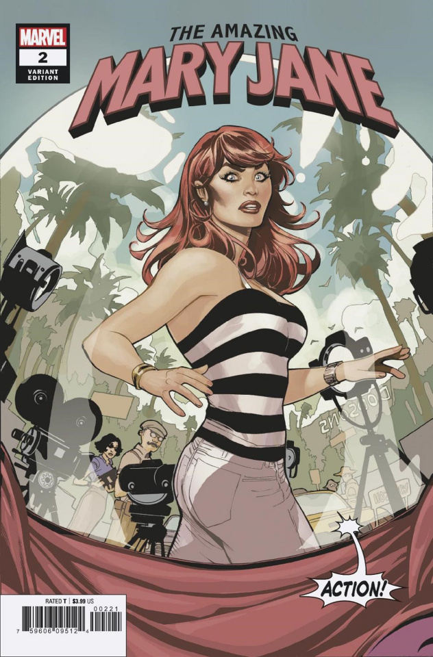 The Amazing Mary Jane #2 (Dodson Cover)