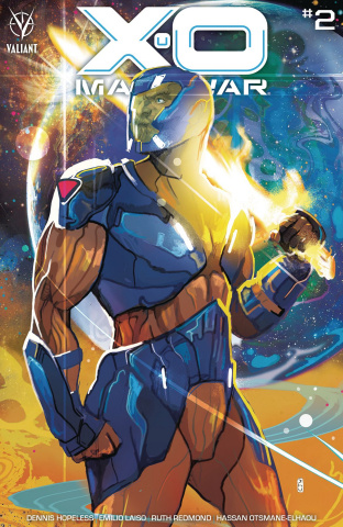 X-O Manowar #2 (Ward Cover)
