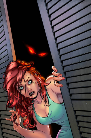 Tales of Terror Quarterly: Game Night #1 (Riveiro Cover)