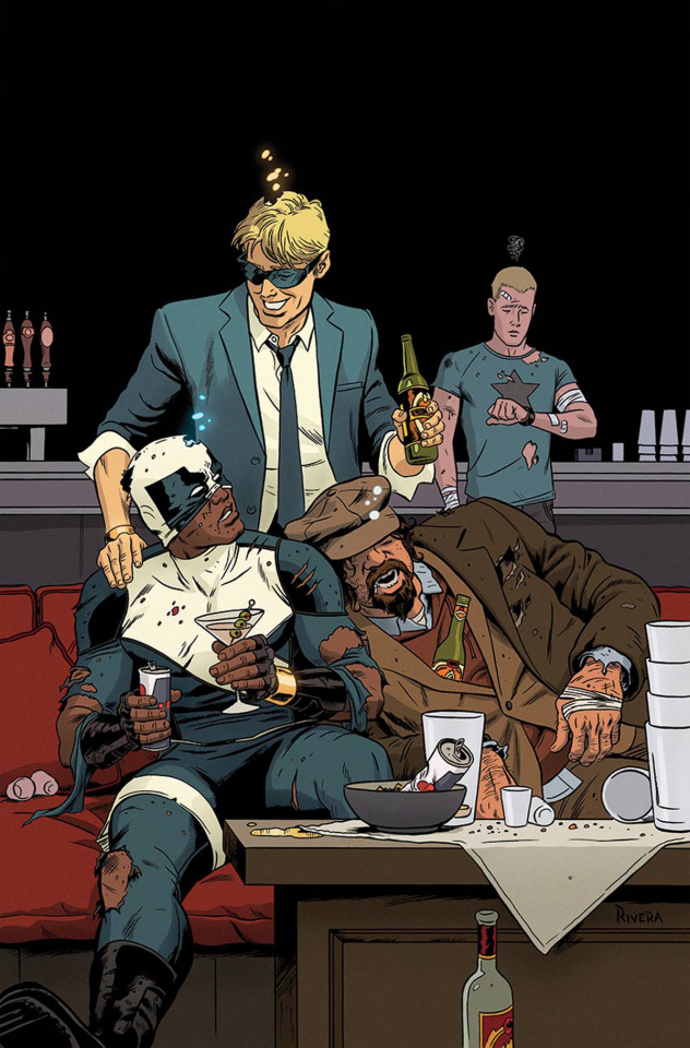 The Delinquents #4 (Rivera Cover)