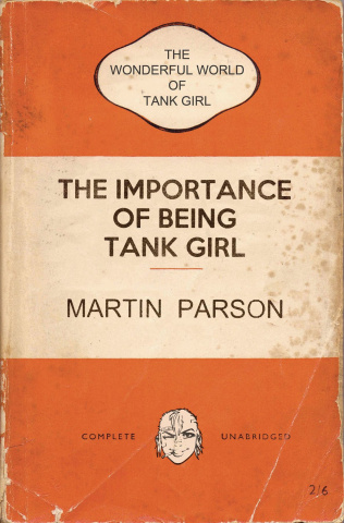 The Wonderful World of Tank Girl #2 (Bookshelf Cover)