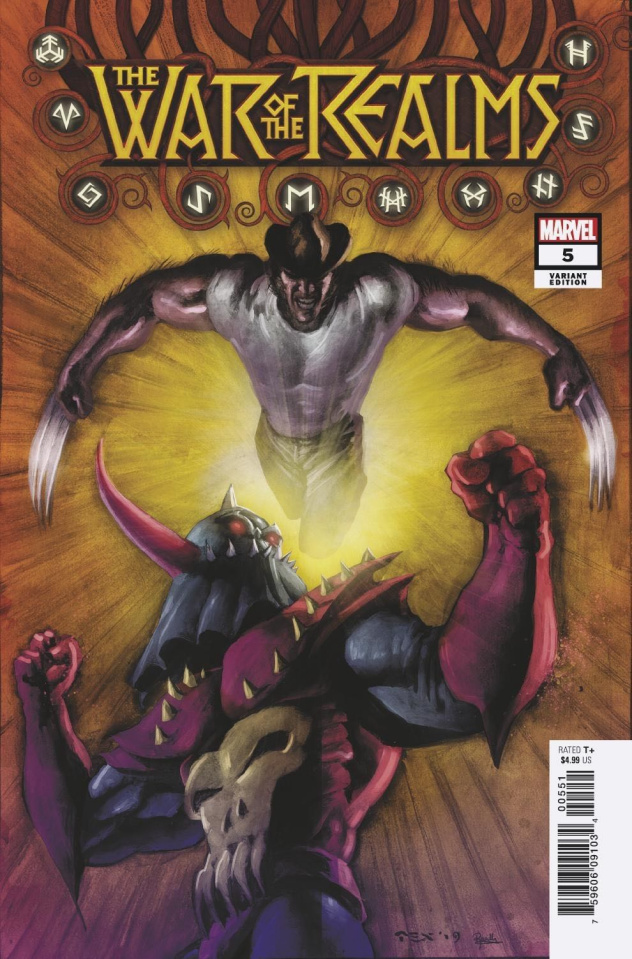 The War of the Realms #5 (Texeira Cover)