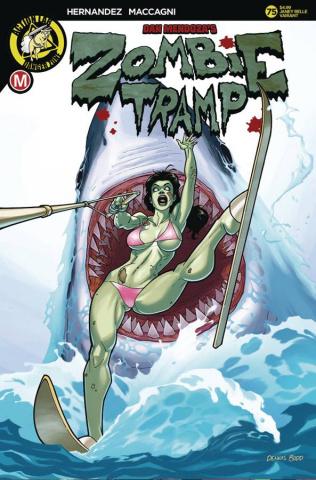 Zombie Tramp #75 (Dennis Budd Cover)
