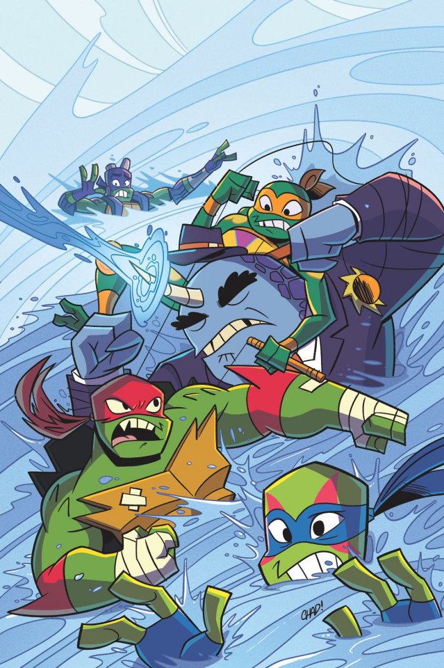Rise of the Teenage Mutant Ninja Turtles: Sound Off #2 (Thomas Cover)