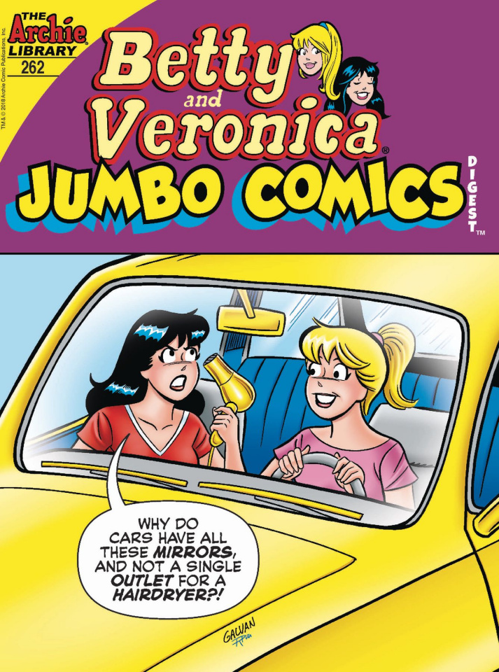 Betty & Veronica Jumbo Comics Digest #262