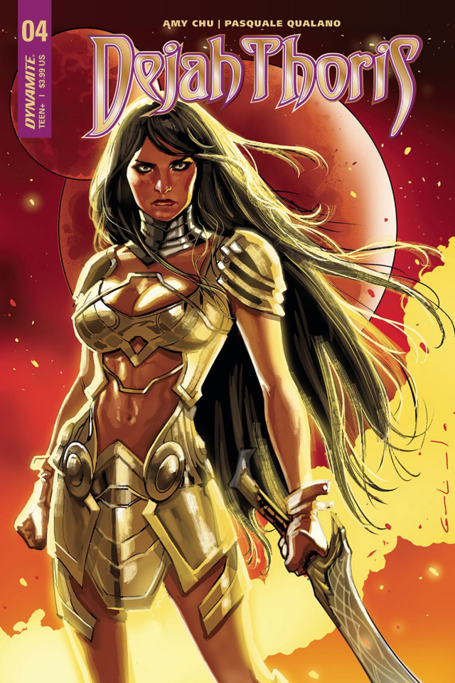 Dejah Thoris #4 (Galindo Cover)