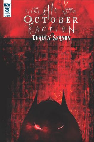 The October Faction: Deadly Season #3 (Subscription Cover)