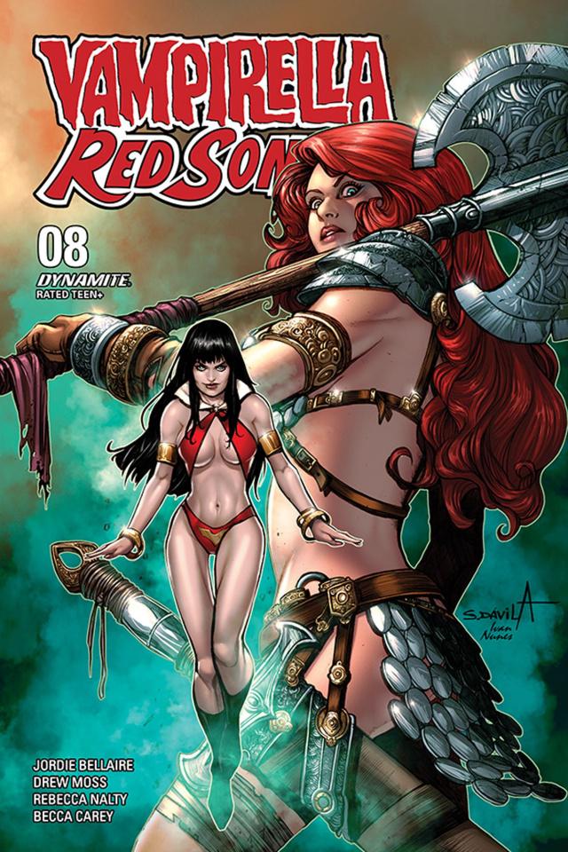 Vampirella / Red Sonja #5 (Davila Bonus Cover)