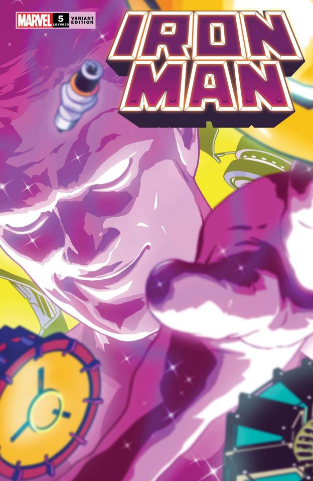 Iron Man #5 (Aco Cover)