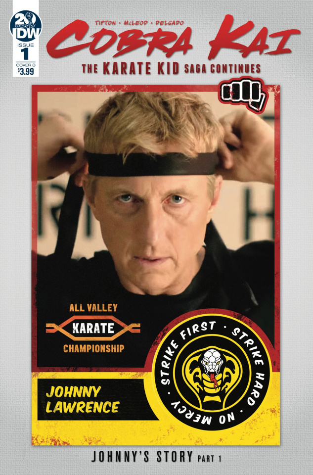 Cobra Kai: The Karate Kid Saga Continues #1 (Photo Cover)