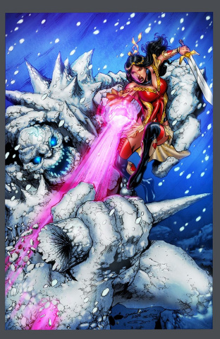 Grimm Fairy Tales #2 (Luis Cover)
