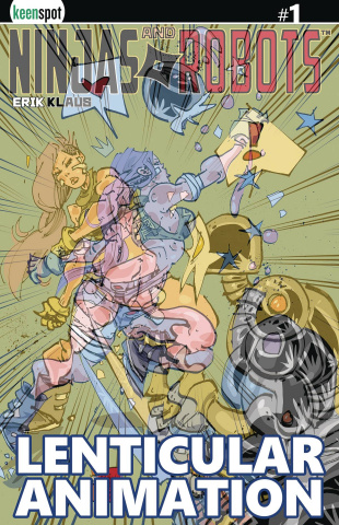 Ninjas and Robots #1 (Lenticular Cover)