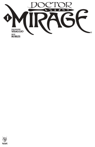 Doctor Mirage #1 (Blank Cover)