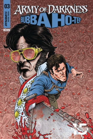Army of Darkness / Bubba Ho-Tep #3 (5 Copy Haeser Color Cover)