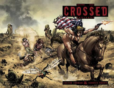 Crossed: Badlands #59 (Wrap Cover)