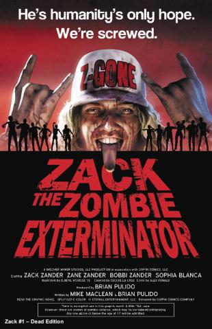 Zack: The Zombie Exterminator #1 (Dead Ed Free Cover)