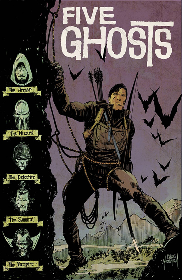 Five Ghosts #13