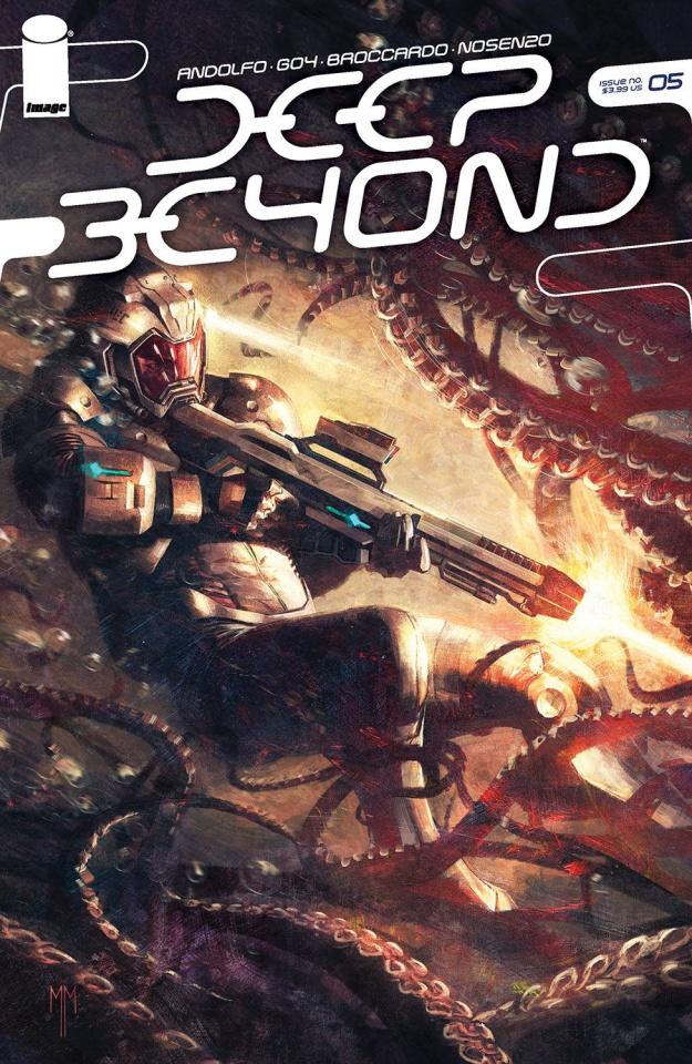 Deep Beyond #5 (Mastrazzo Cover)