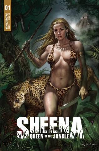 Sheena: Queen of the Jungle #1 (Parrillo Cover)