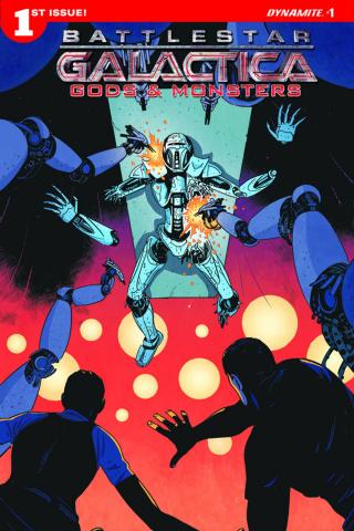 Battlestar Galactica: Gods & Monsters #1 (Morgan Cover)