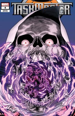 Taskmaster #4 (Smith Cover)