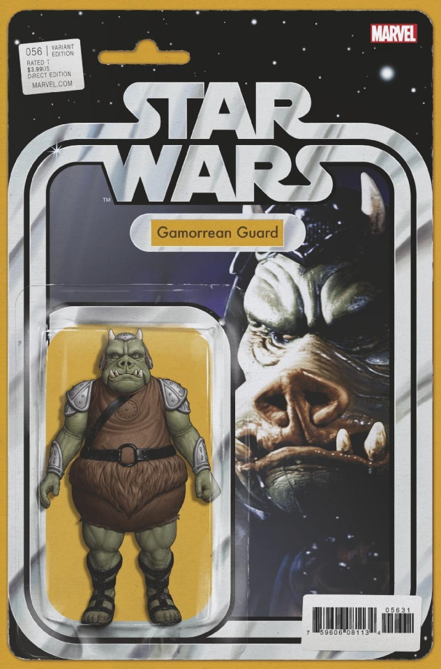 Star Wars #56 (Christopher Action Figure Cover)